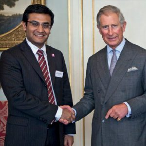 Ashden Award for Abellon. Mr. Aditya Handa with HRH Prince Charles