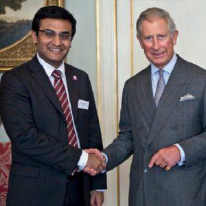 Ashden Award for Abellon. Mr. Aditya Handa with HRH Prince Charles
