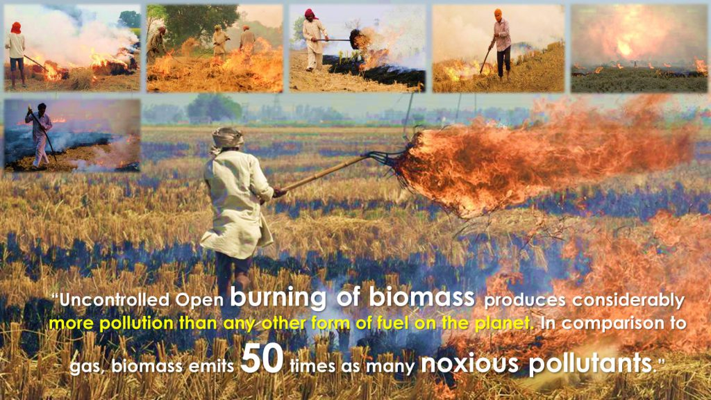 Unoncontrolled Biomass Burning